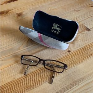 Burberry Glasses and Case